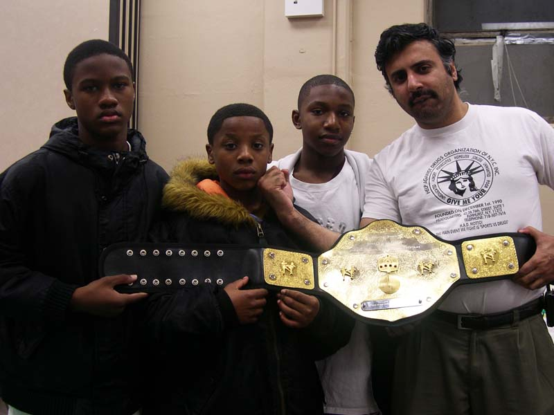 Dr.Abbey with Hopefa Youths 2006