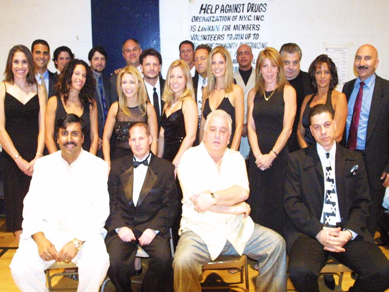 Dr.Abbey with JT Talent Group in attendance 2003
