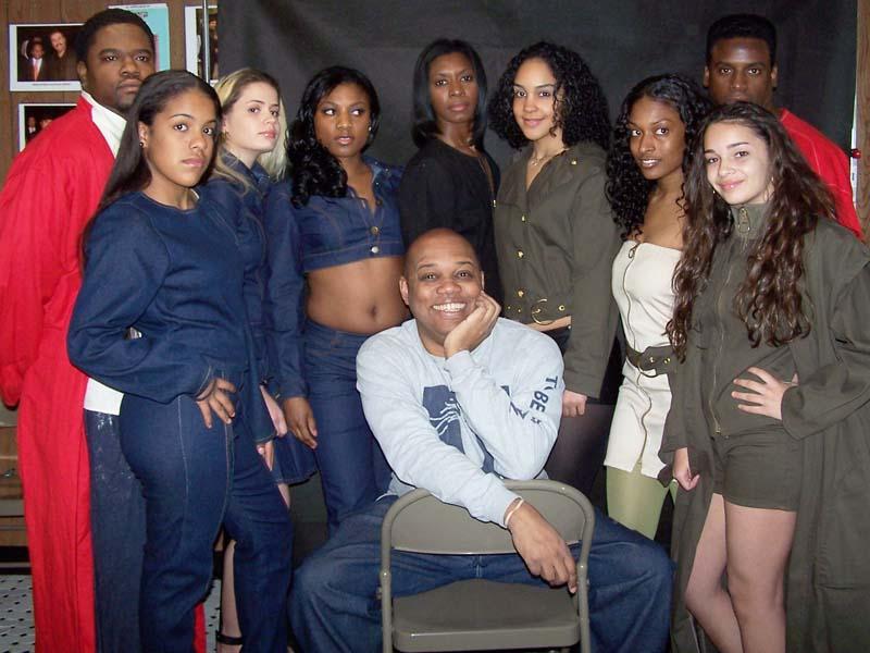 Models wearing TBA Designs