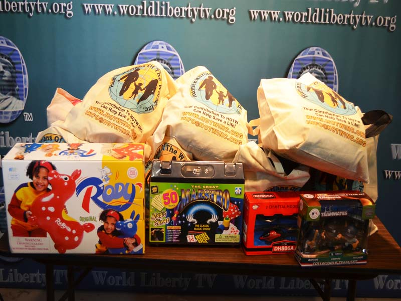 Toys & Gifts for Sandy Victims 2012