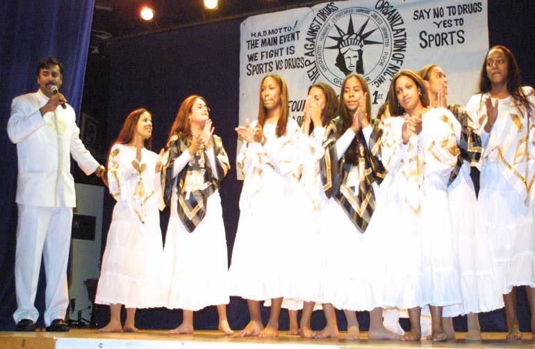 BPD Doing a live performance 2005