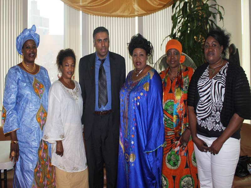 Dr.Abbey at Nigerian Womes Event 2005
