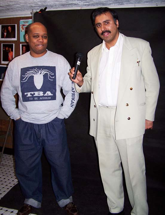 Dr.Abbey with Designer TBA 2001